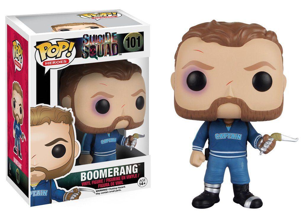 Boomerang #101 ( Capitão Bumerangue ) - Suicide Squad ( Esquadrão Suicida ) - Funko Pop! Heroes