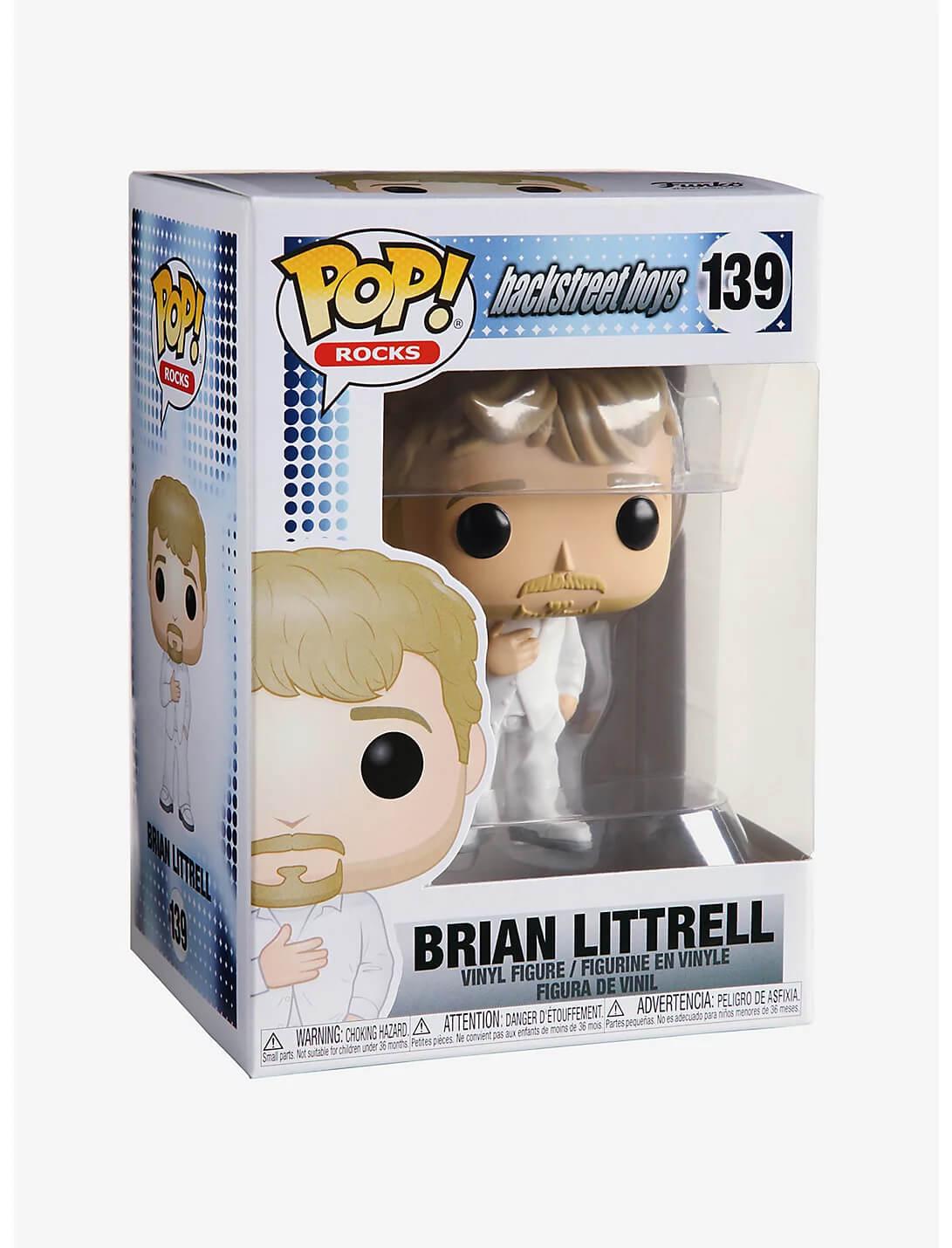 Brian Littrell #139 - Backstreet Boys - Funko Pop! Rocks