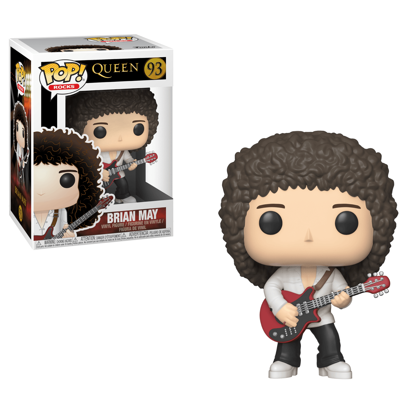 Brian May #93 - Queen - Funko Pop! Rocks