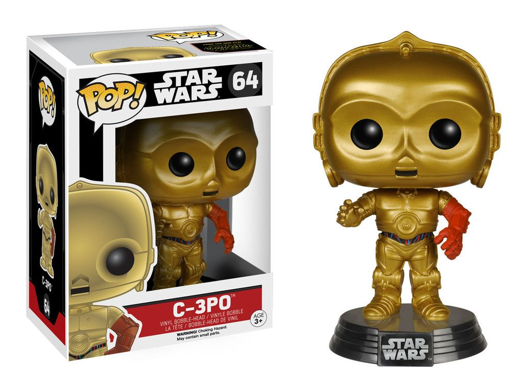 C-3PO #64 - Star Wars The Force Awakens ( O Despertar da Força ) - Funko Pop!
