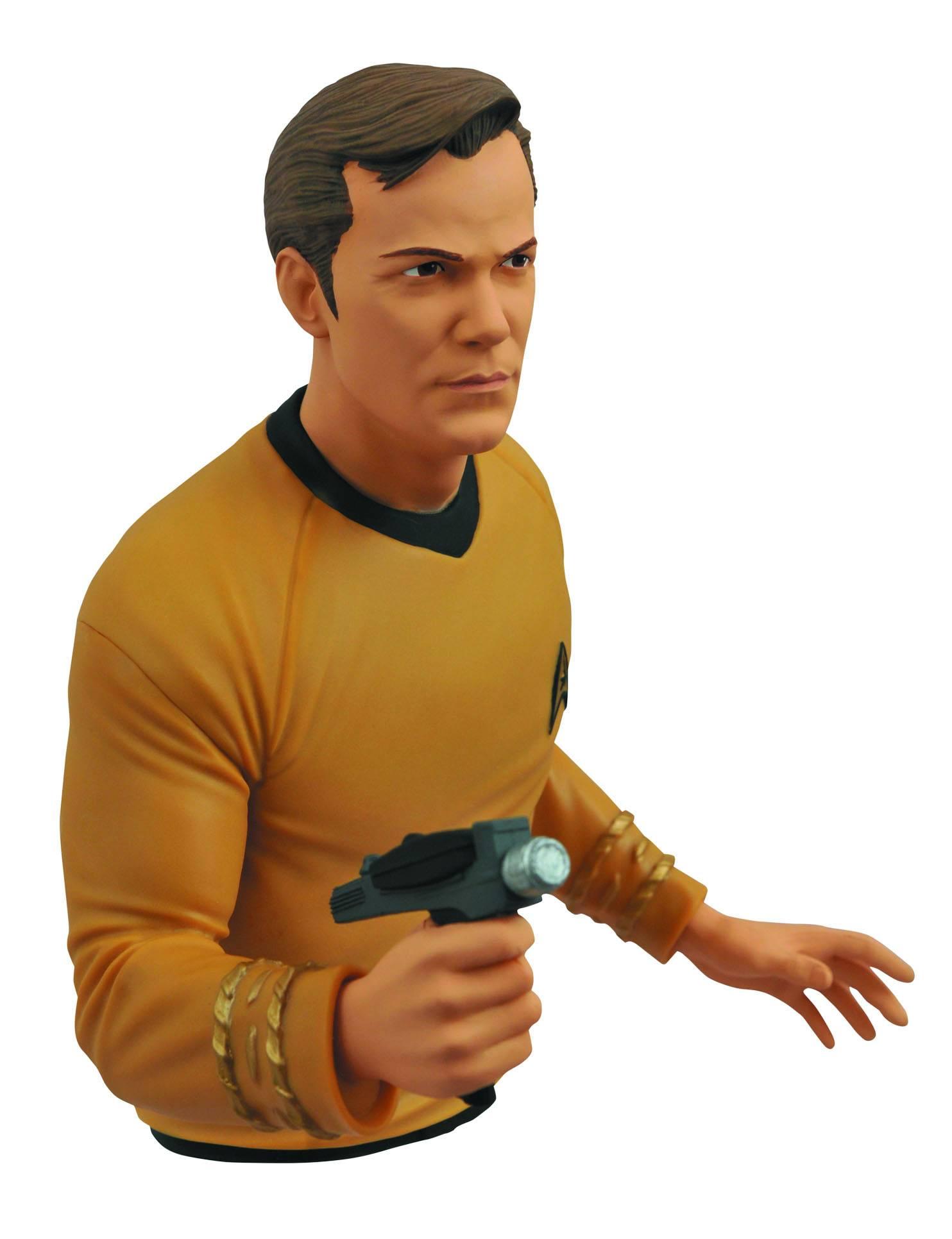 Capitão Kirk Bust Bank ( Capitão James T. Kirk ) - Star Trek - Diamond Select Toys