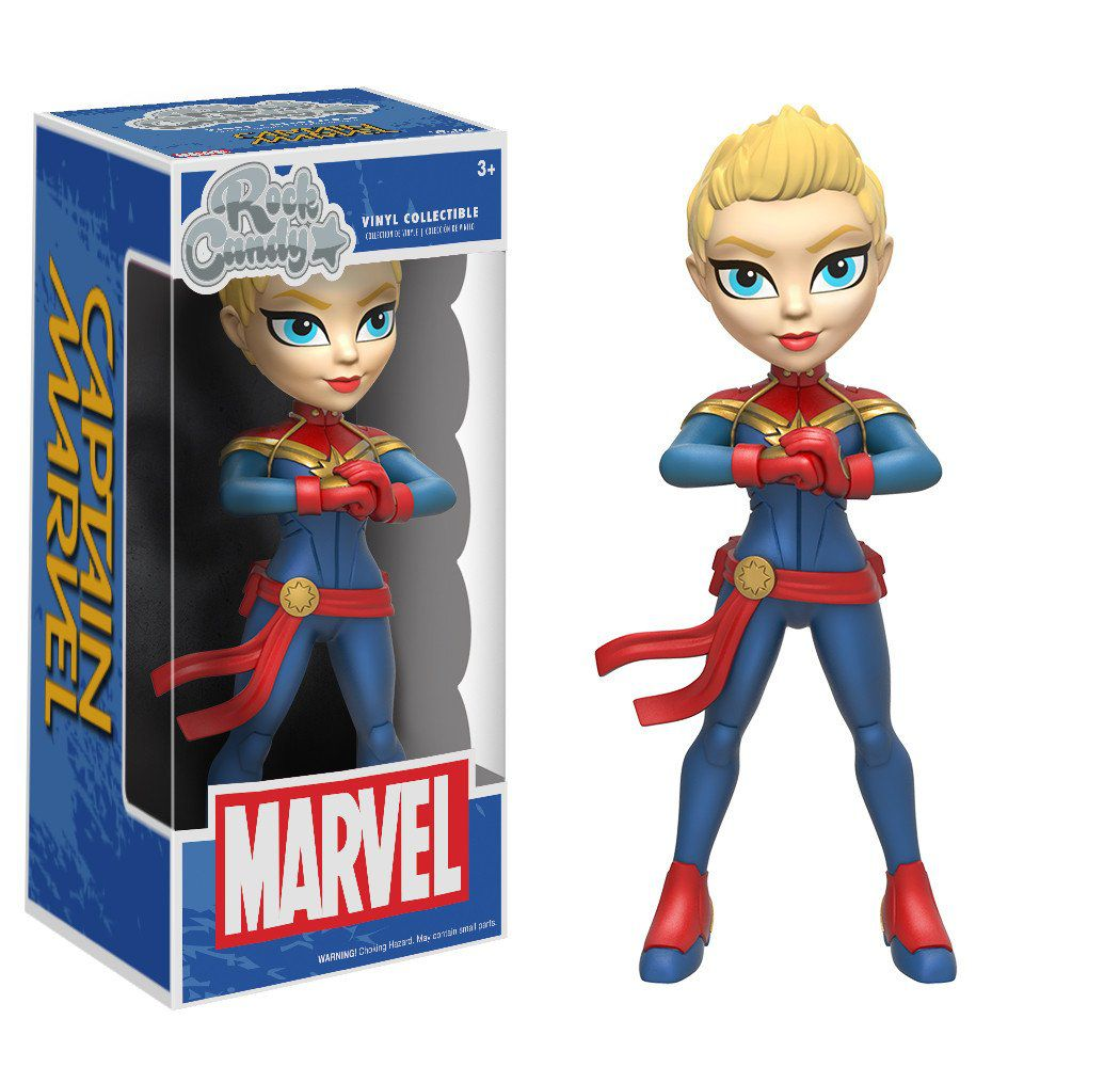 Captain Marvel ( Capitã Marvel ) - Funko Rock Candy