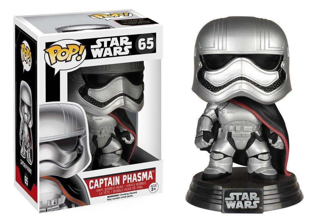 Captain Phasma #65 ( Capitão Phasma ) - Star Wars The Force Awakens ( O Despertar da Força ) - Funko Pop!