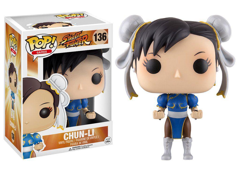 Chun Li #136 - Street Fighter - Funko Pop! Games
