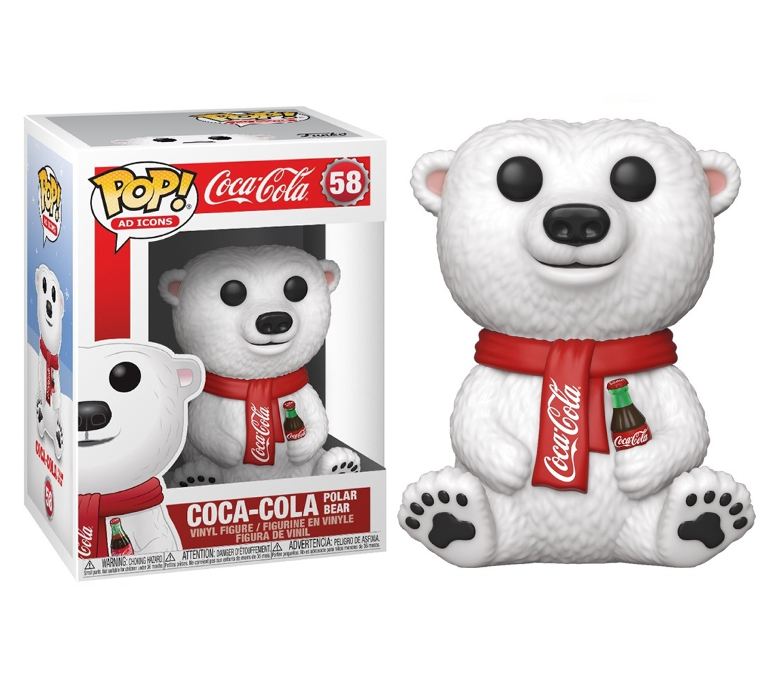 Coca-Cola Polo Bear #58 - Funko Pop! Ad Icons
