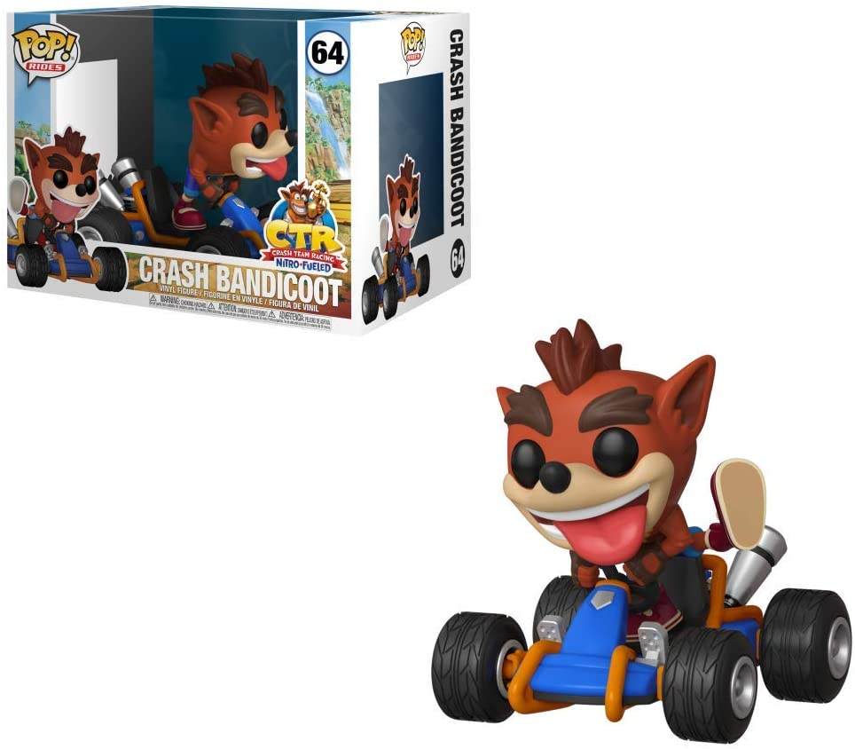 Crash Bandicoot #65 - Funko Pop! Rides