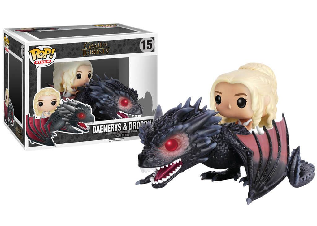 Daenerys & Drogon #15 - Game of Thrones - Funko Pop! Rides