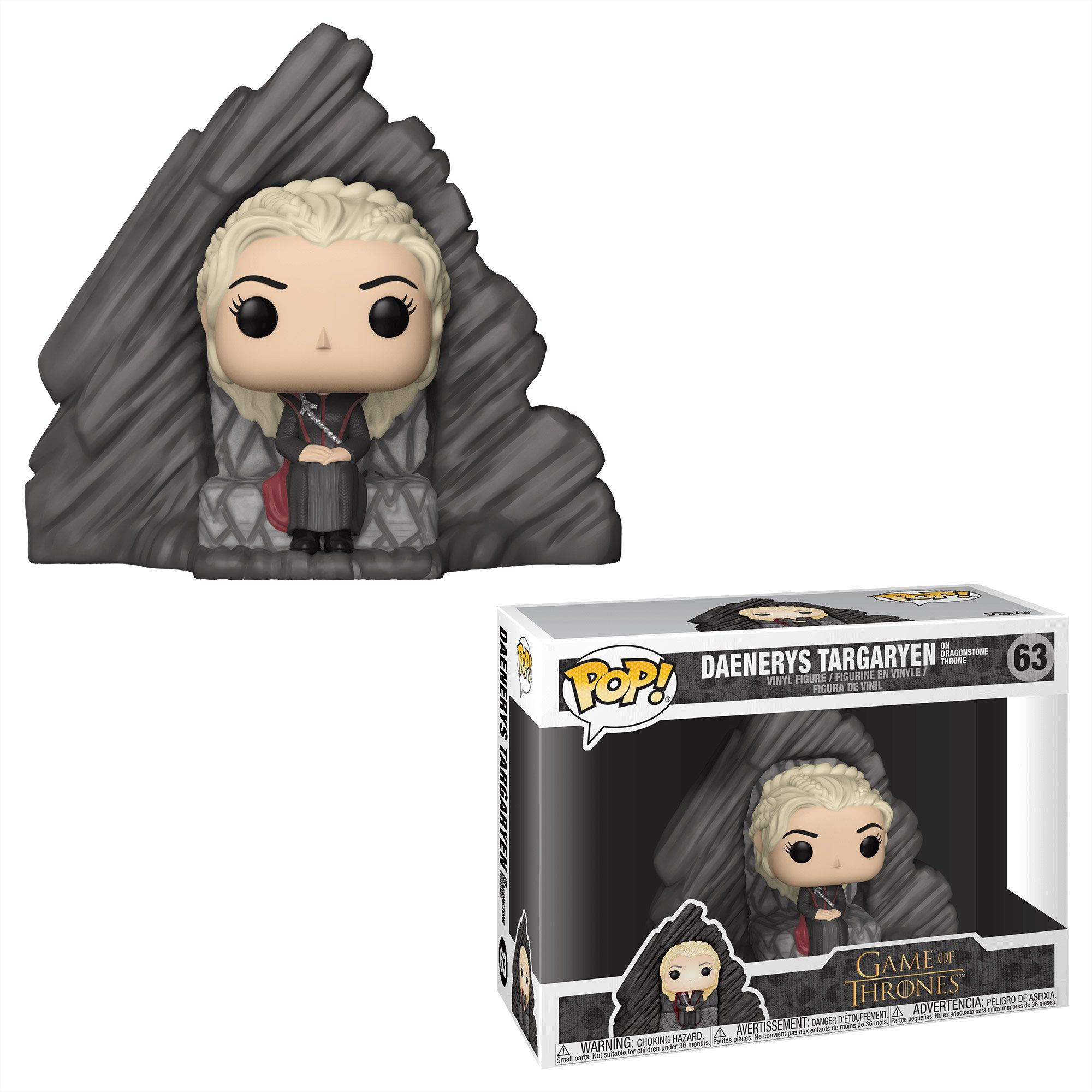 Daenerys Targaryen on Dragonstone Throne #63 - Game of Thrones - Funko Pop!