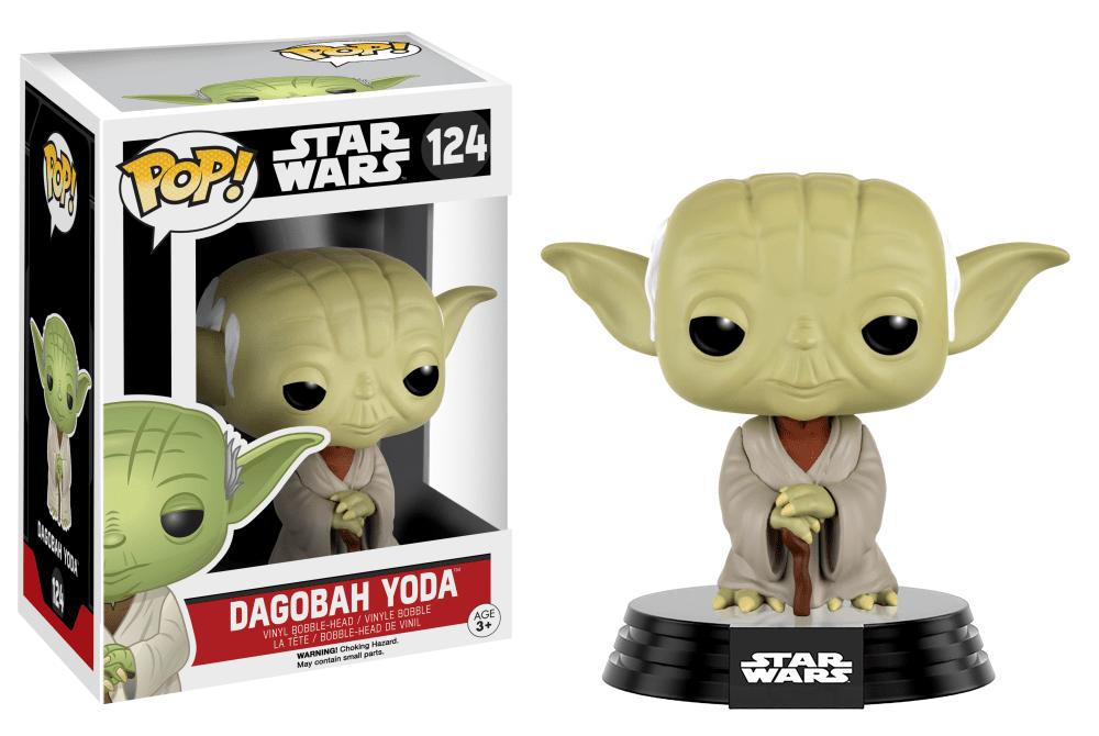 Dagobah Yoda #124 - Star Wars - Funko Pop!