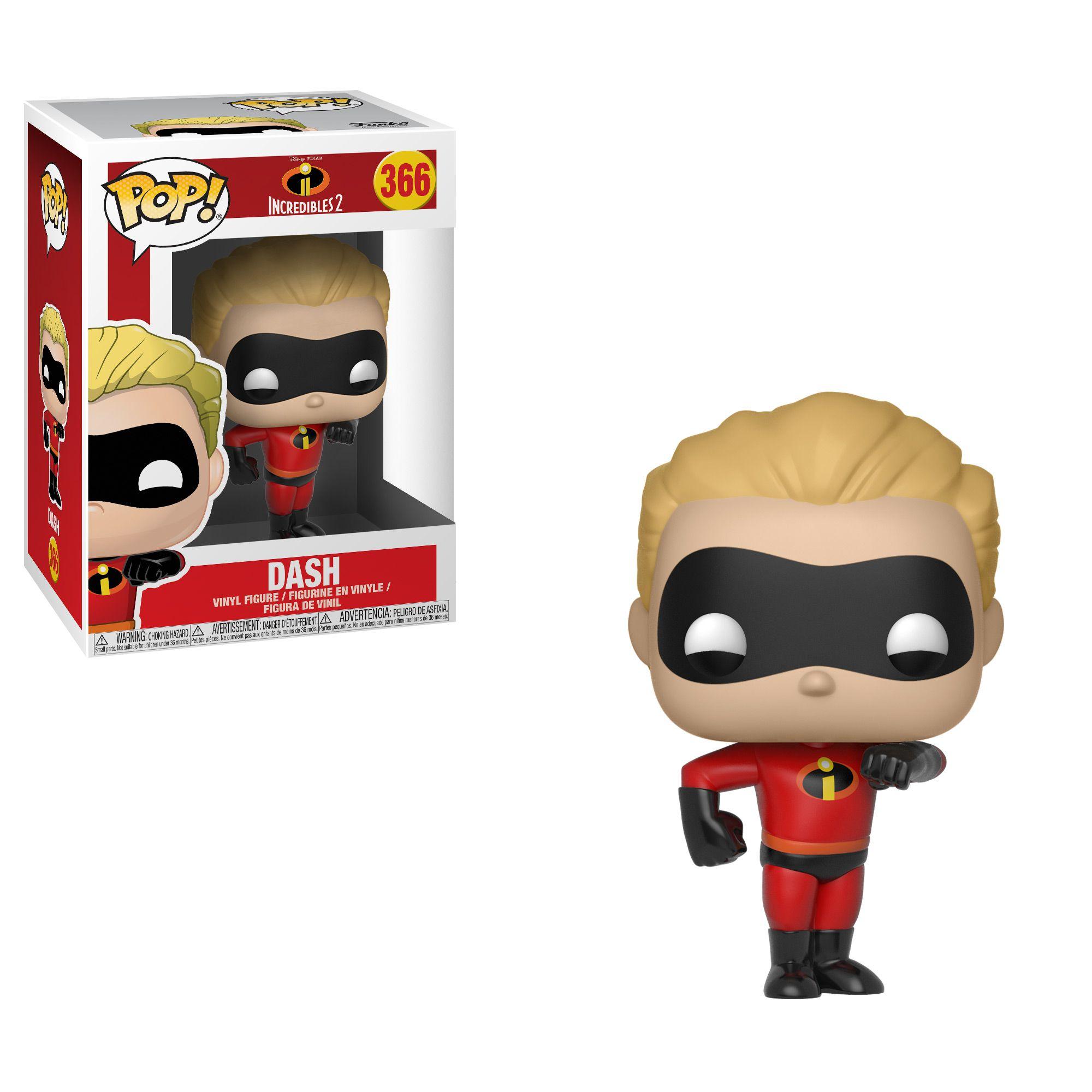 Dash #366 ( Flecha ) - The Incredibles II ( Os Incríveis 2 ) - Funko Pop!