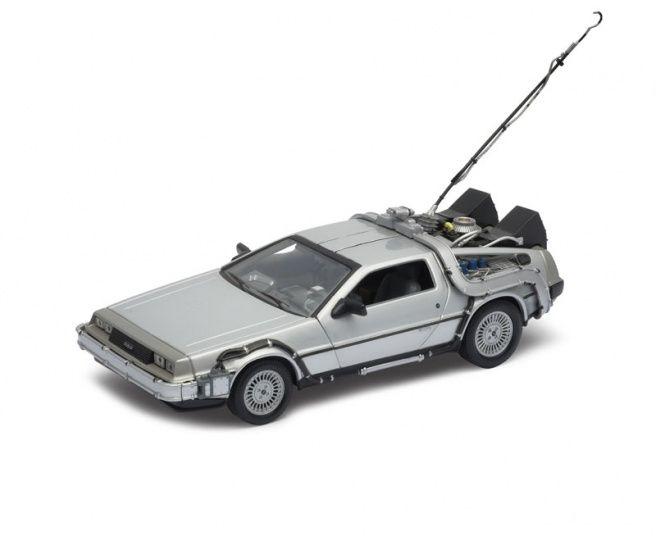 DeLorean Time Machine - Back To The Future - Escala 1:24 - Welly