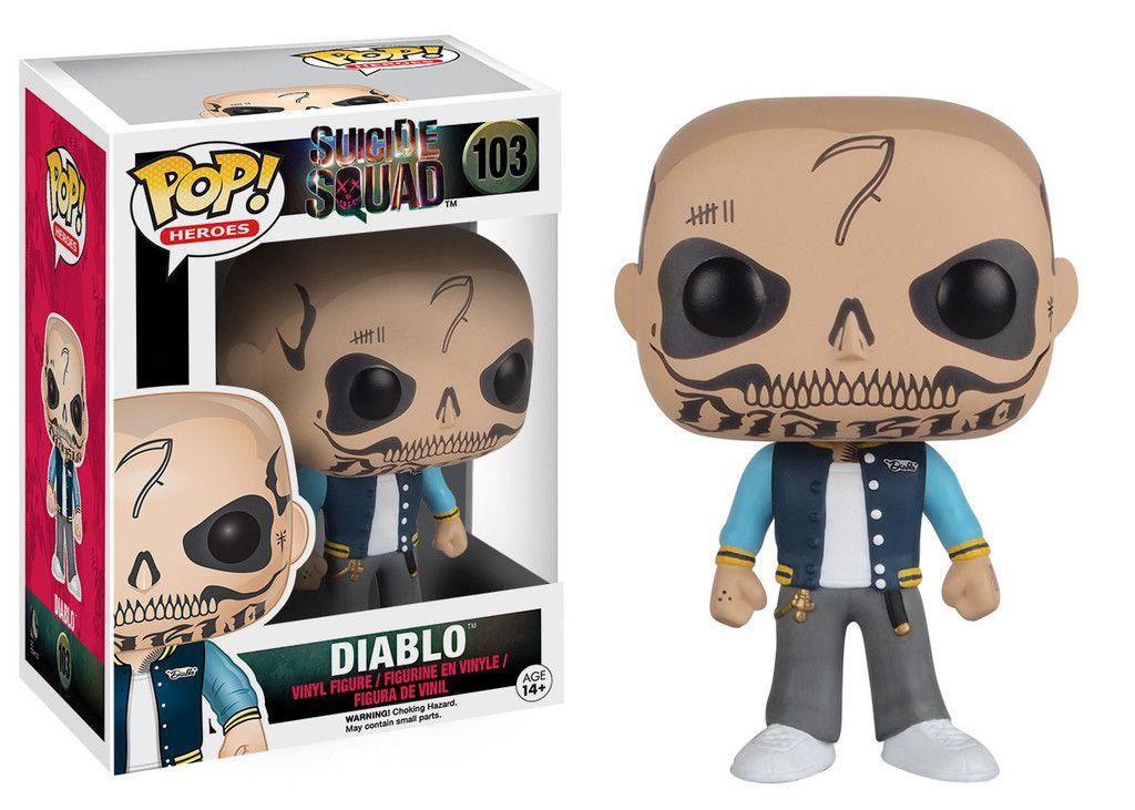 Diablo #103 - Suicide Squad ( Esquadrão Suicida ) - Funko Pop! Heroes