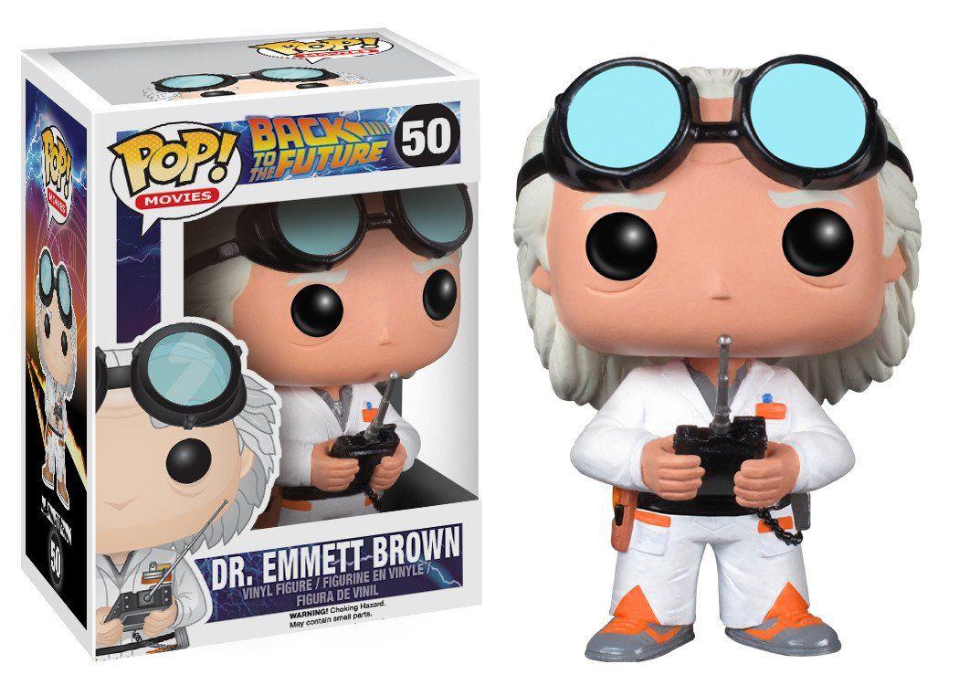 Dr Emmett Brown #50 - Back to the Future ( De Volta para o Futuro ) - Funko Pop! Movies