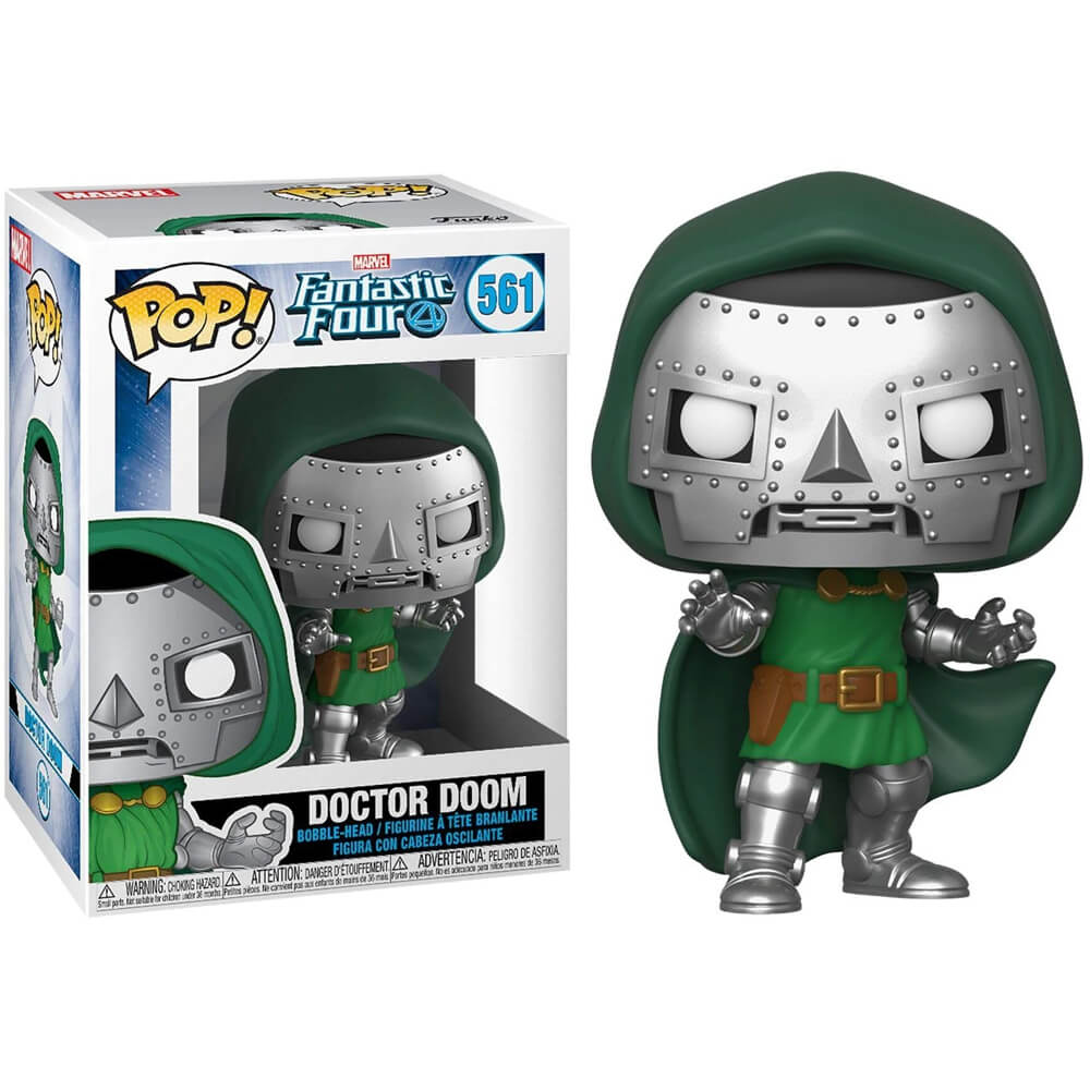 Doctor Doom #561 (Doutor Destino) - Fantastic Four (Quarteto Fantástico) - Funko Pop! Marvel