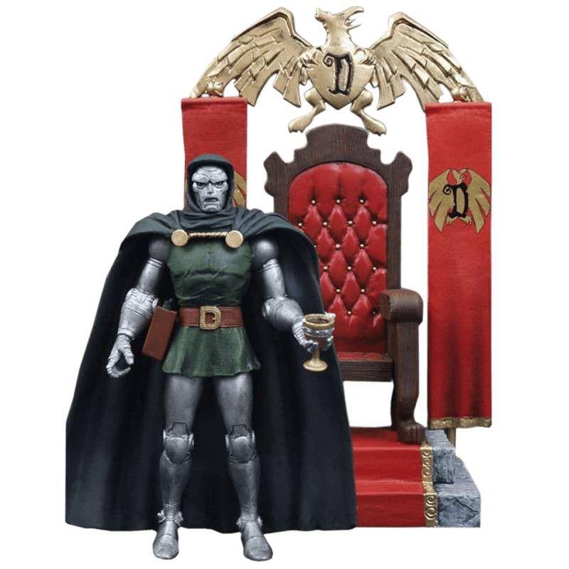 Doctor Doom ( Doutor Destino ) - Marvel Select - Diamond Select Toys