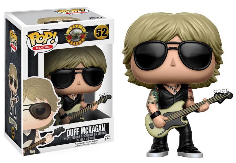 Duff McKagan #52 - Guns N' Roses - Funko Pop! Rocks