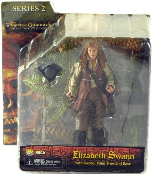 Elizabeth Swann - Pirates of The Caribbean ( Piratas do Caribe ) - NECA