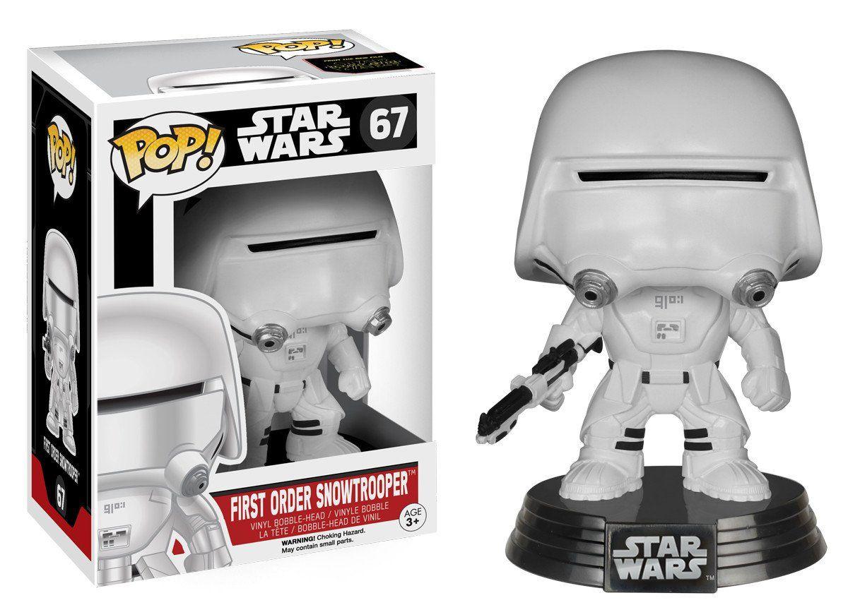 First Order Snowtrooper #67 - Star Wars The Force Awakens ( O Despertar da Força ) - Funko Pop!