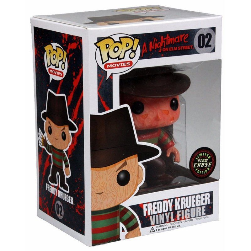 Freddy Krueger #02 - A Nightmare on Elm Street ( A Hora do Pesadelo ) - Funko Pop! Movies Limited Edition Glow Chase