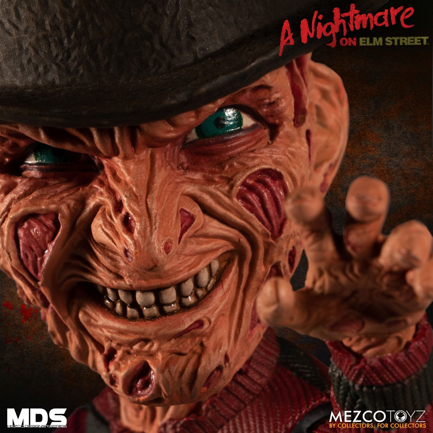 Freddy Krueger - A Nightmare on Elm Street III (A Hora do Pesadelo) - Stylized Figure - Mezco Toyz