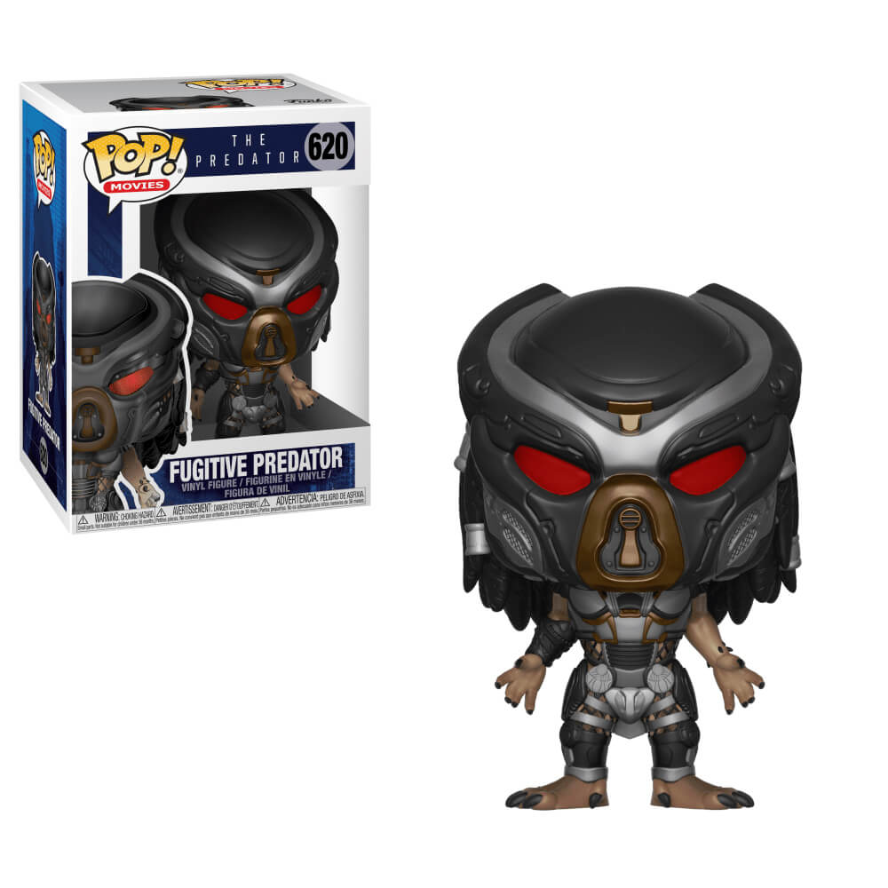 Fugitive Predator #620 (Predador Fugitivo) - The Predator (O Predador) - Funko Pop! Movies