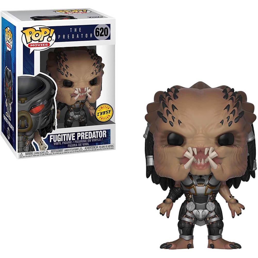 Fugitive Predator #620 (Predador Fugitivo) - The Predator (O Predador) - Funko Pop! Movies Limited Edition Chase