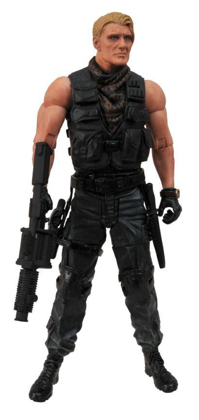 Gunner Jensen - The Expendables ( Os Mercenários ) - Diamond Select Toys