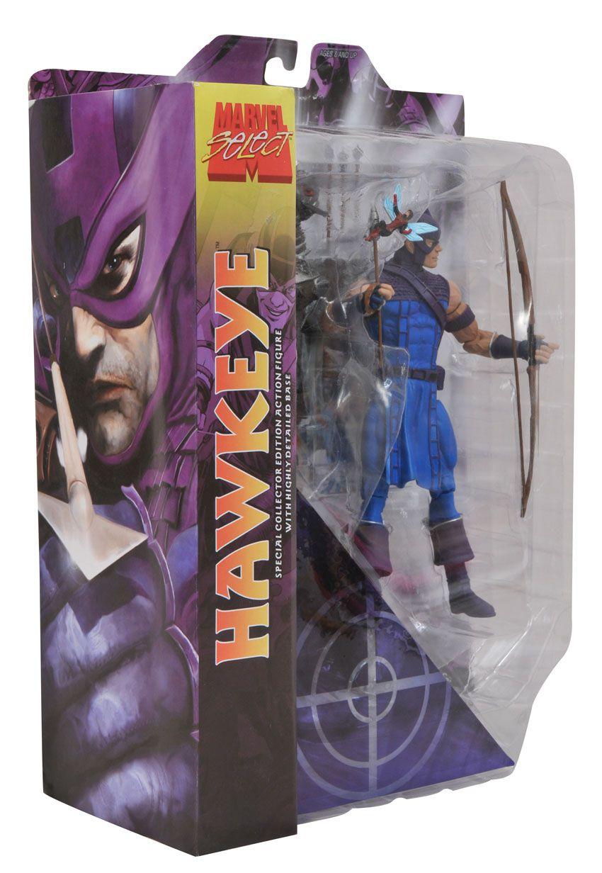 Hawkeye - ( Gavião Arqueiro ) - Marvel Select - Diamond Select Toys