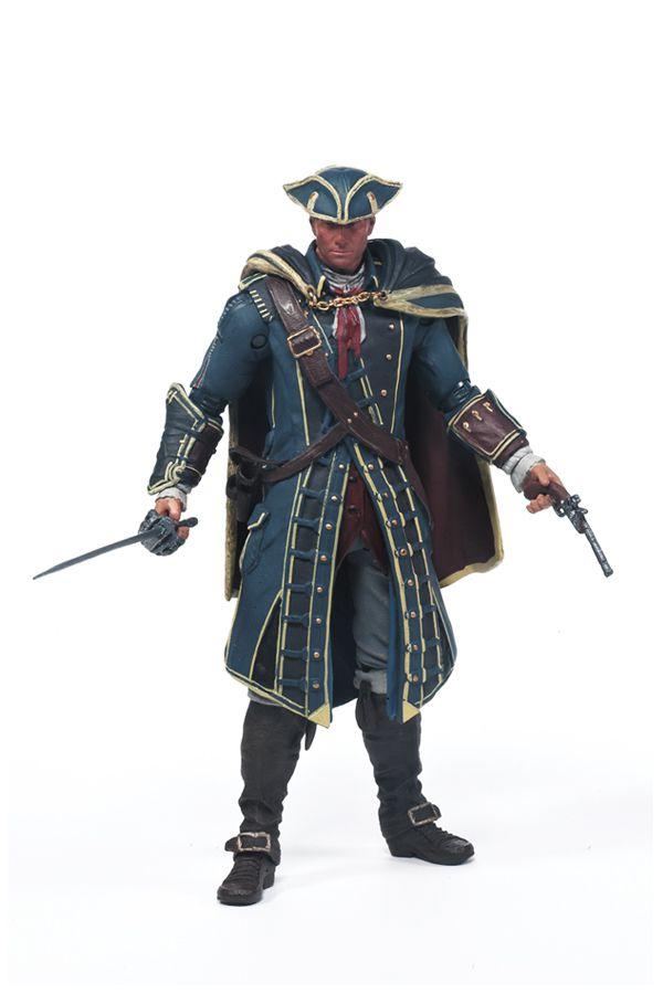 Haytham Kenway - Assassin's Creed 4 Black Flag - McFarlane