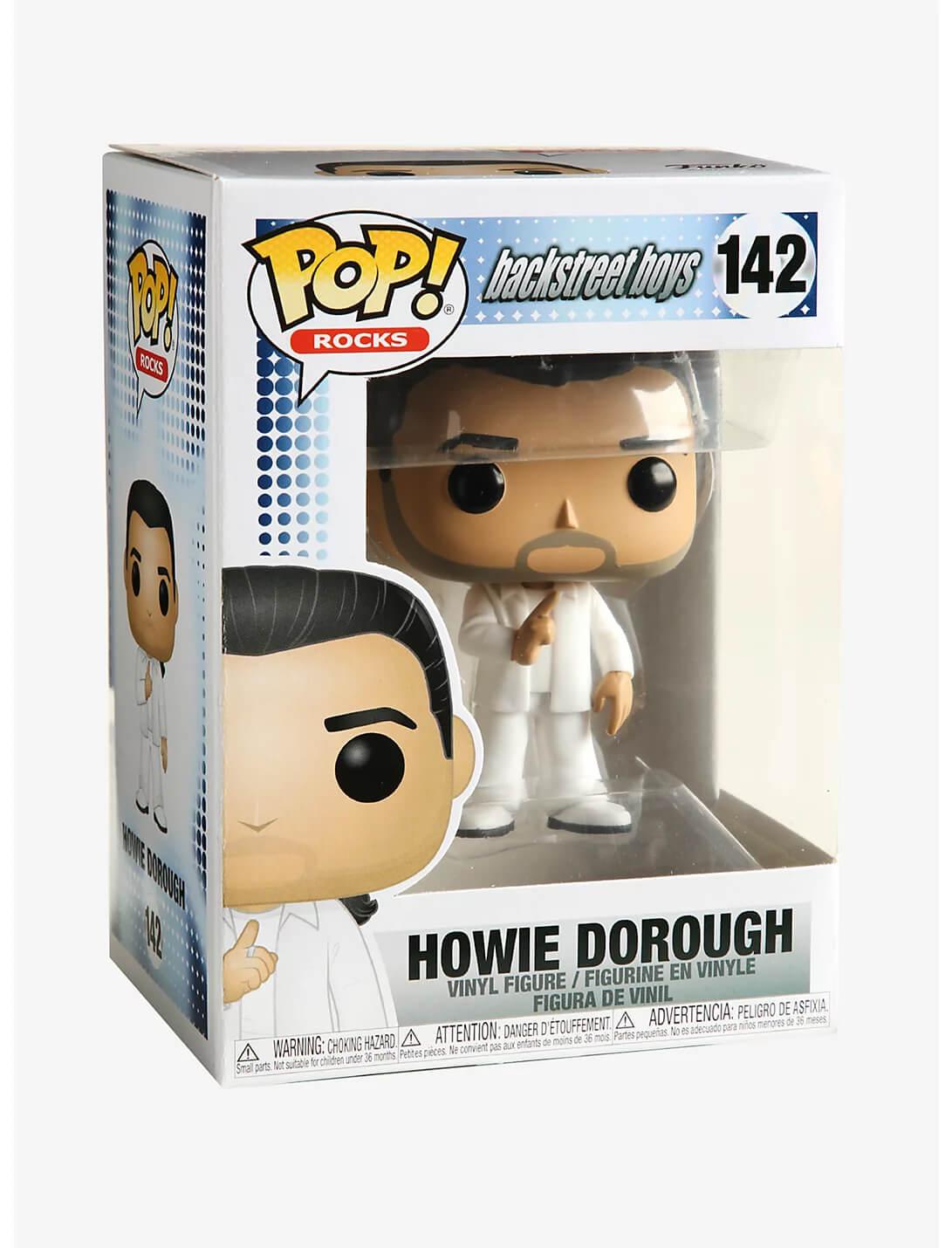 Howie Dorough #142 - Backstreet Boys - Funko Pop! Rocks