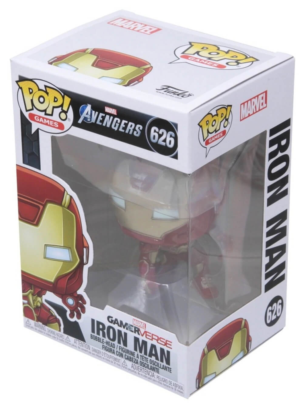 Iron Man (Homem de Ferro) Avengers (Vingadores) Gamerverse #626 - Funko Pop! Games