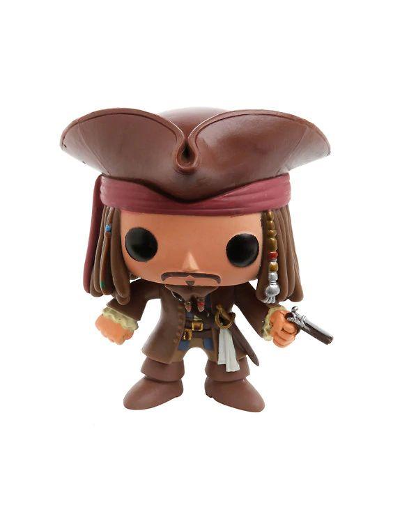 Jack Sparrow #48 - Pirates of The Caribbean ( Piratas do Caribe ) - Funko Pop! Disney