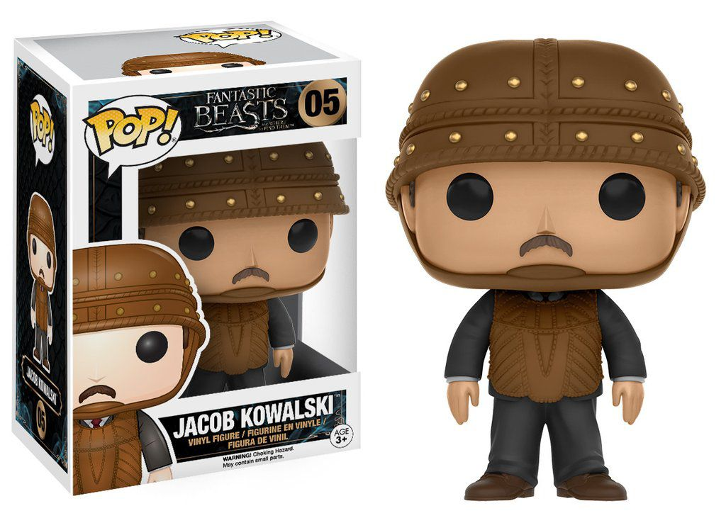 Jacob Kowalski #05 - Fantastic Beasts and Where to Find Them ( Animais Fantásticos e Onde Habitam ) - Funko Pop!