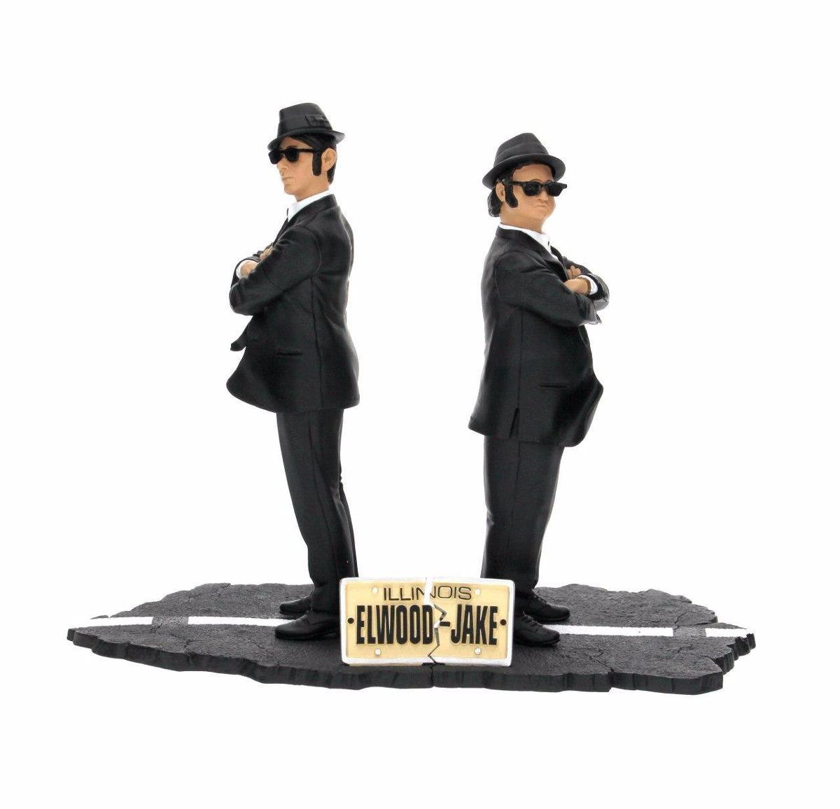 Jake & Elwood Blues - The Blues Brothers ( Os Irmãos Cara de Pau ) - SD Toys