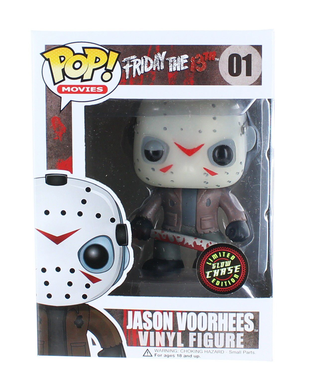 Jason Voorhees #01 - Friday The 13th ( Sexta-feira 13 ) - Funko Pop! Movies Chase