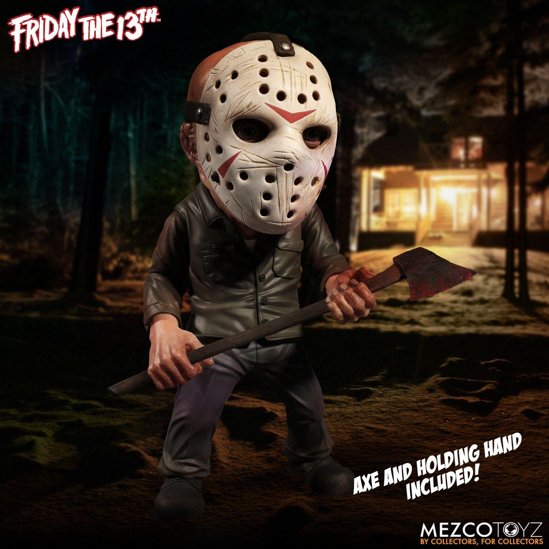 Jason Voorhees Stylized Figure - Friday The 13th ( Sexta-feira 13 ) - Stylized Figure - Mezco Toyz
