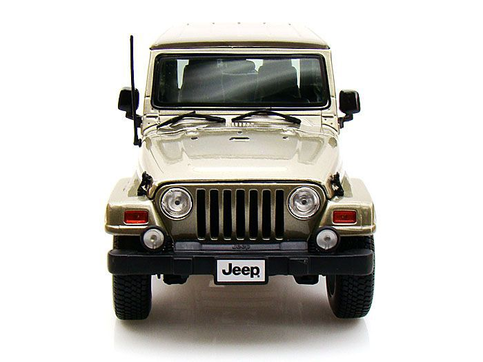 Jeep Wrangler Sahara - Escala 1:18 - Bburago