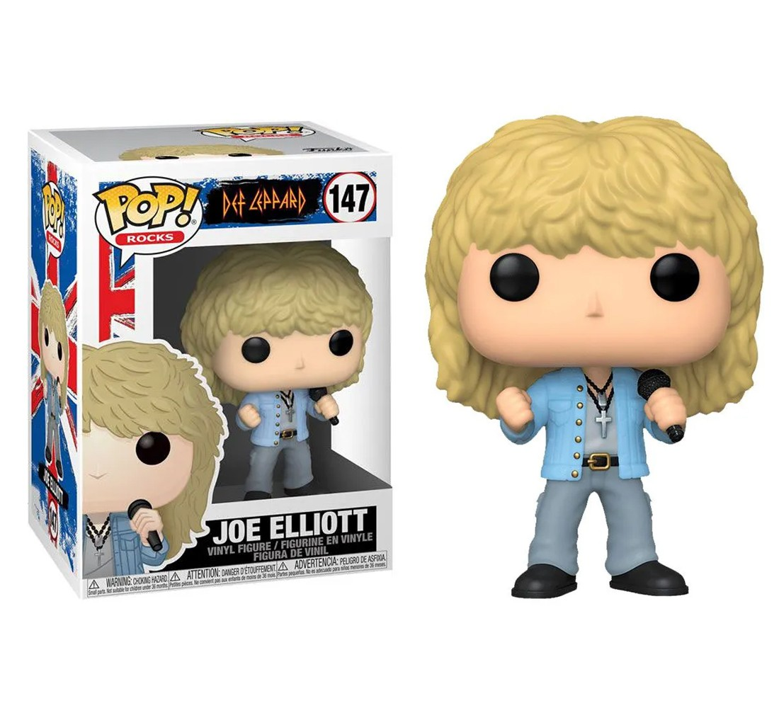 Joe Elliott #147 - Def Leppard - Funko Pop! Rocks