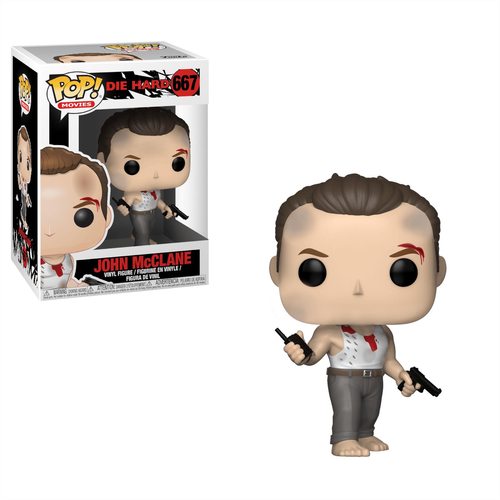 John McClane #667 - Die Hard (Duro de Matar) - Funko Pop! Movies