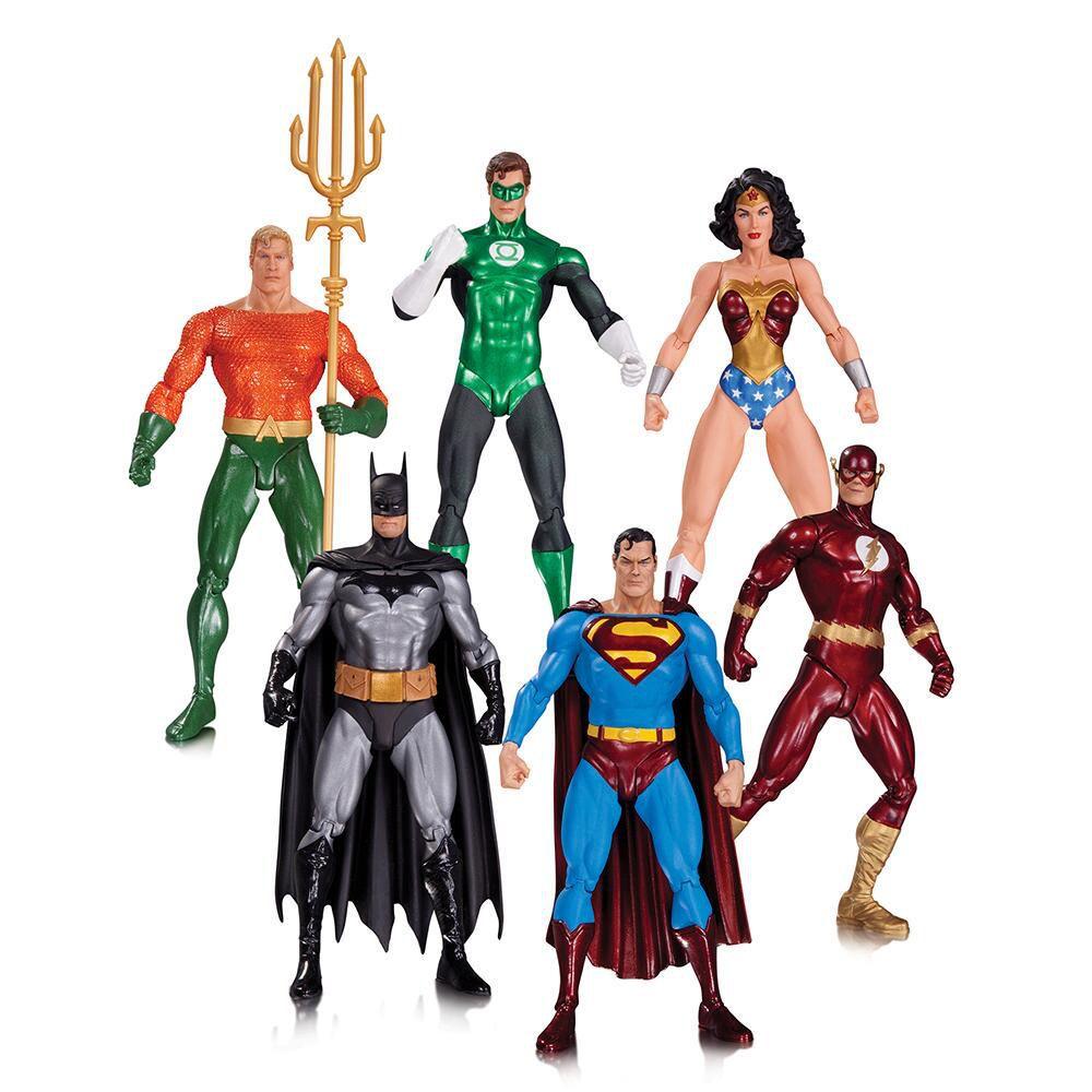 Justice League by Alex Ross ( Liga da Justiça ) - DC Collectibles