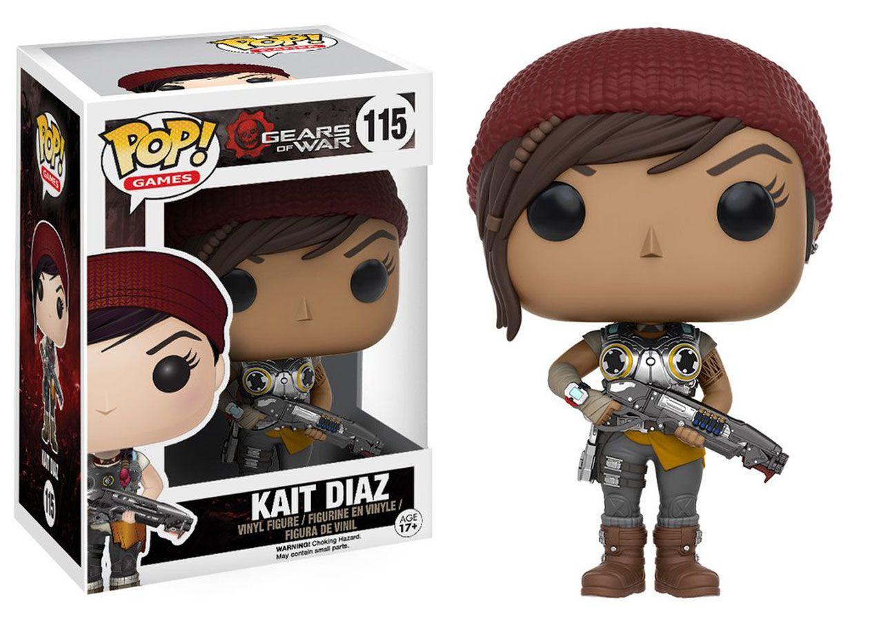 Kait Diaz #115 - Gears of War - Funko Pop! Games