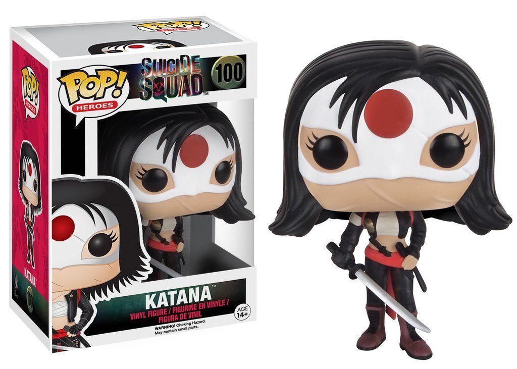 Katana #100 - Suicide Squad ( Esquadrão Suicida ) - Funko Pop! Heroes