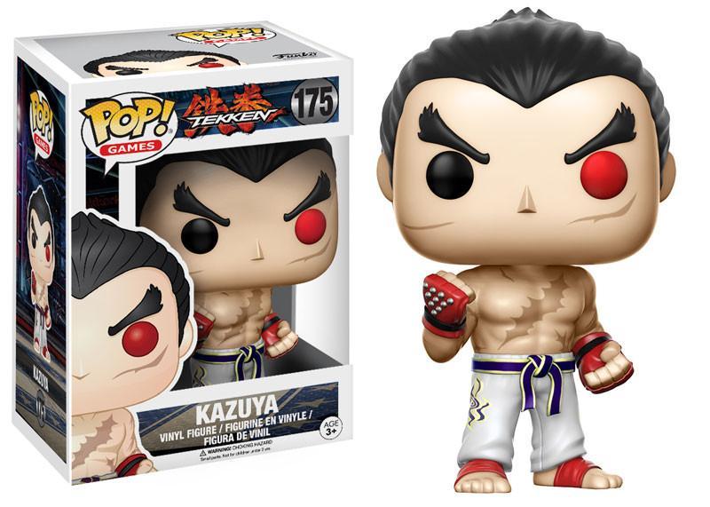 Kazuya #175 - Tekken - Funko Pop! Games