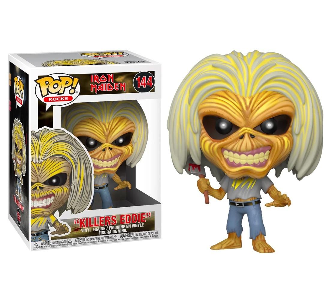 Killers Eddie #144 - Iron Maiden - Funko Pop! Rocks