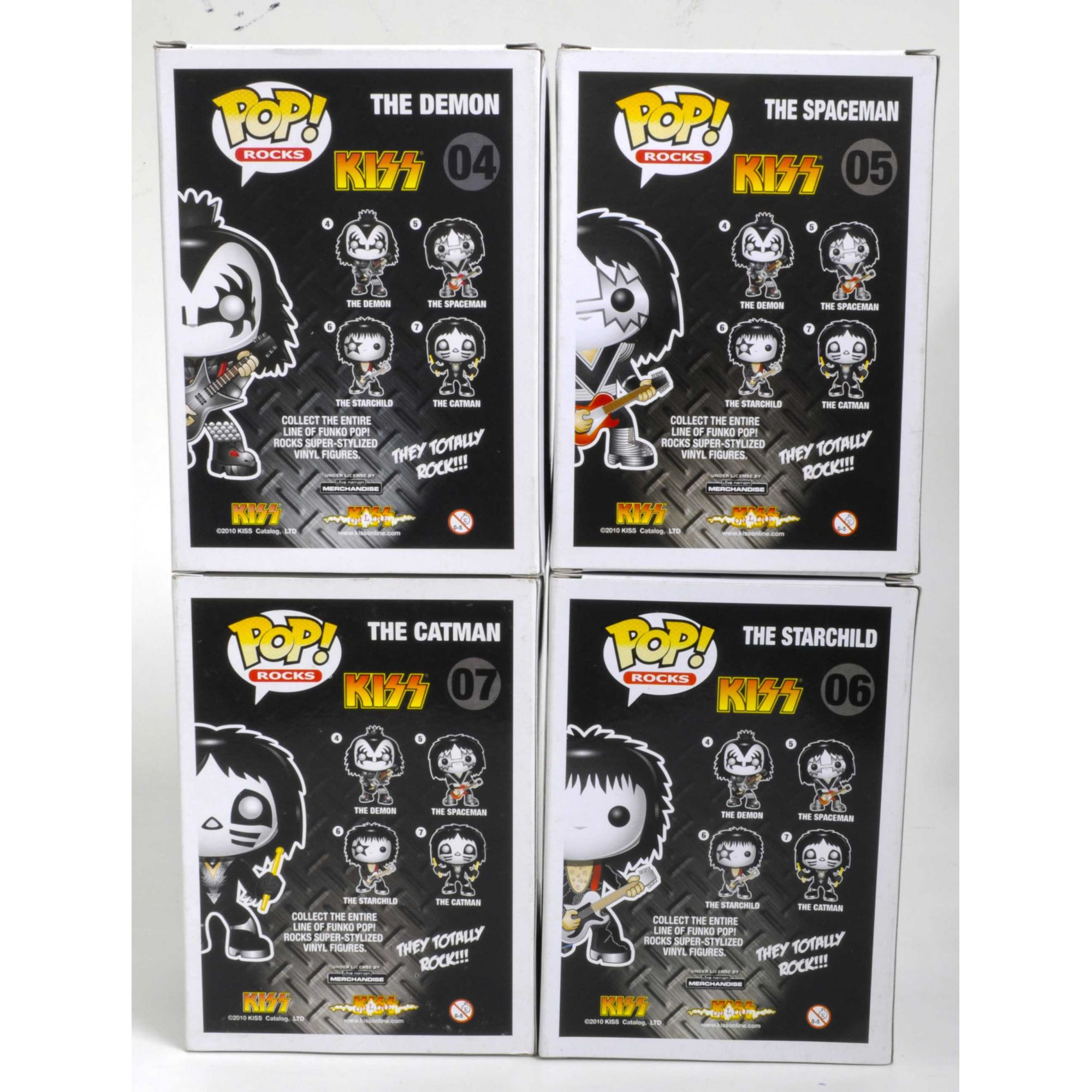 Kiss - Funko Pop! Rocks