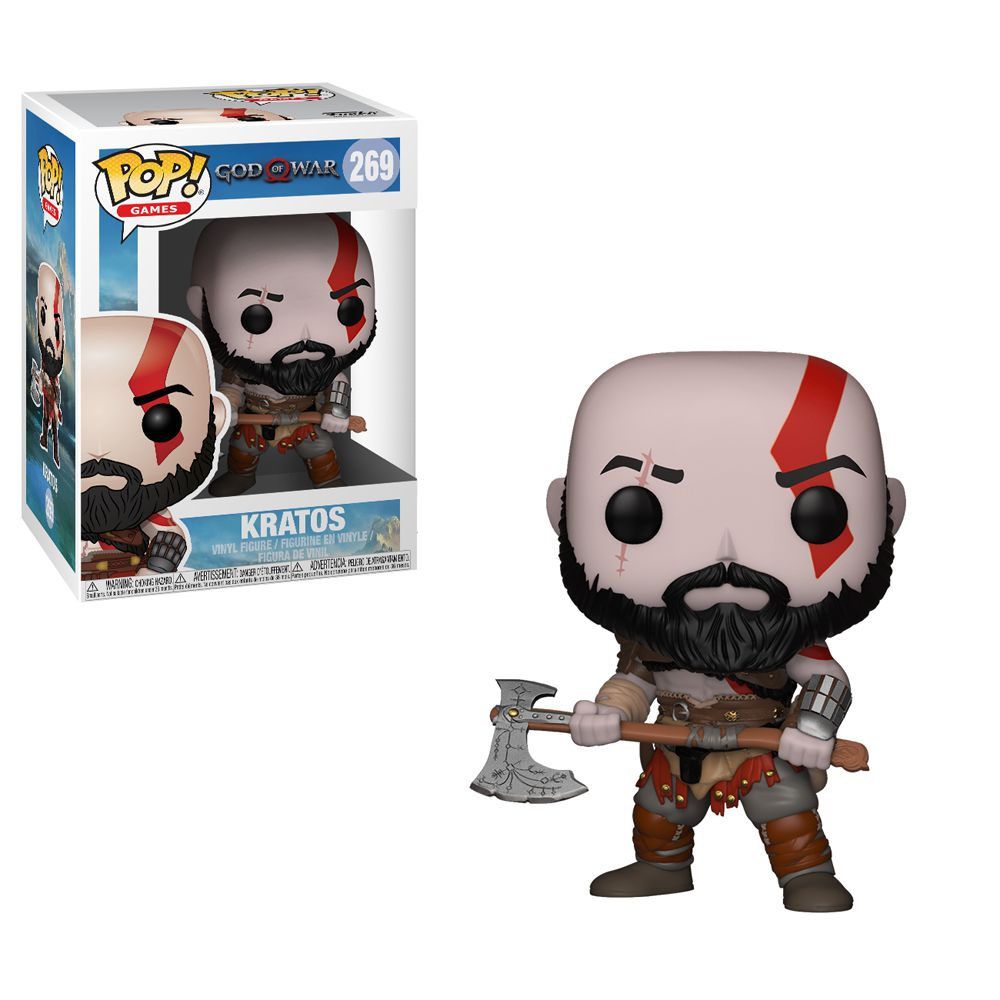 Kratos #269 - God of War - Funko Pop! Games