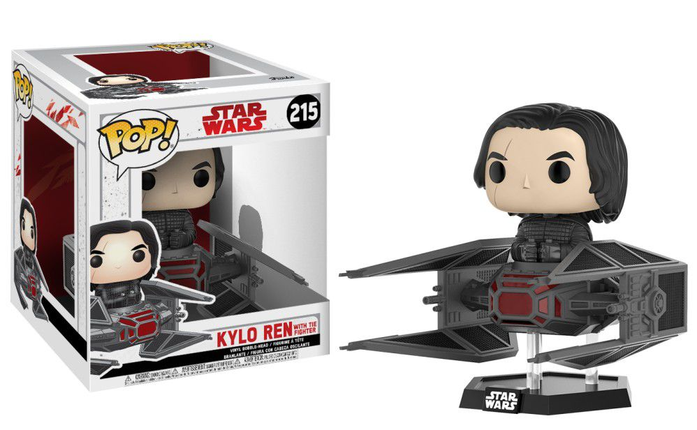 Kylo Ren with TIE Fighter #215 - Star Wars - Funko Pop!
