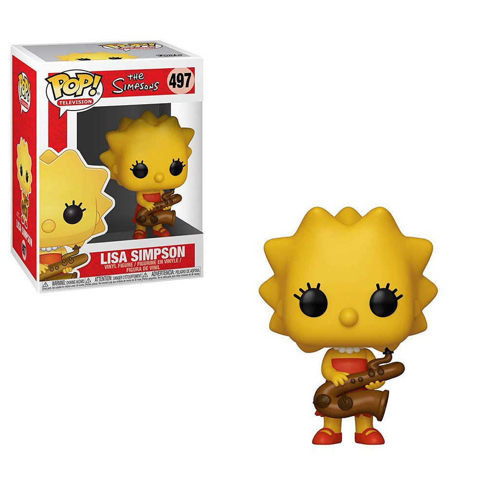 Lisa Simpsons #497 - The Simpsons - Funko Pop! Television
