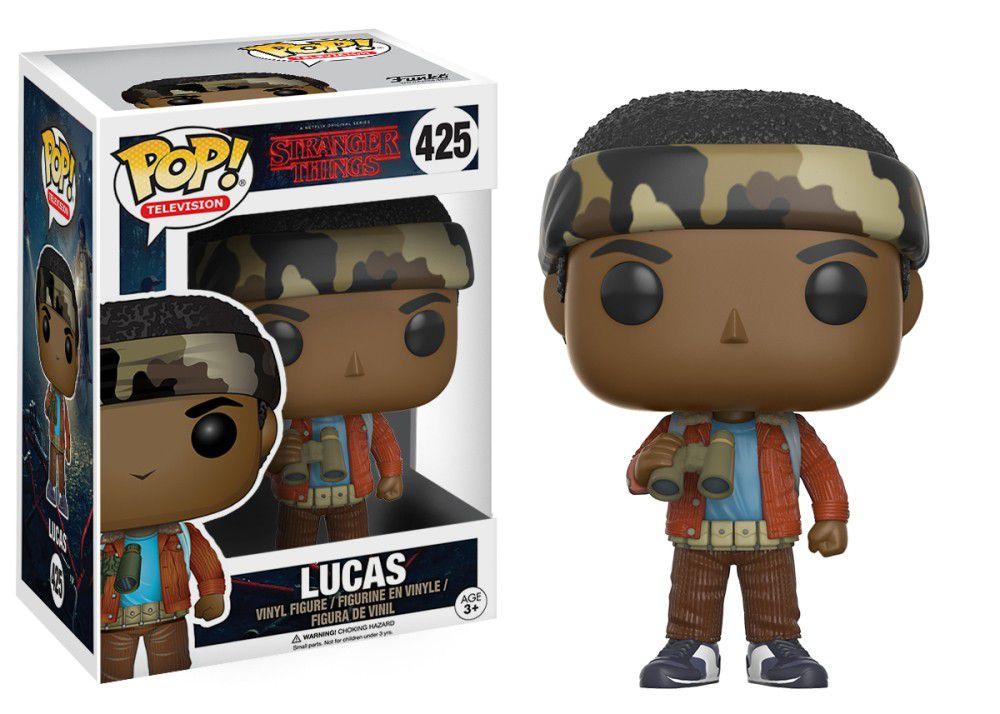 Lucas #425 - Stranger Things - Funko Pop! Television