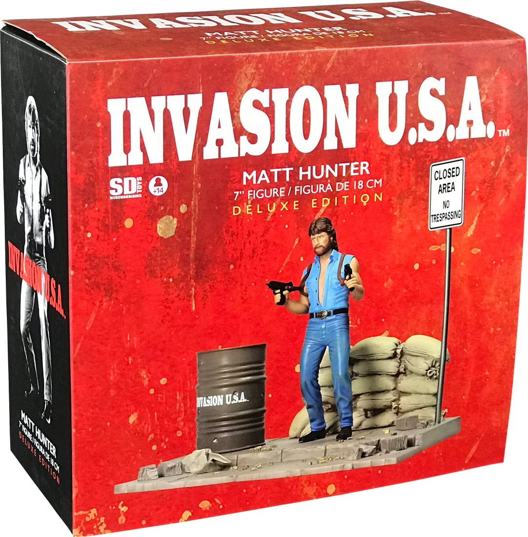 Matt Hunter (Chuck Norris) - Invasion U.S.A - SD Toys Deluxe Edition